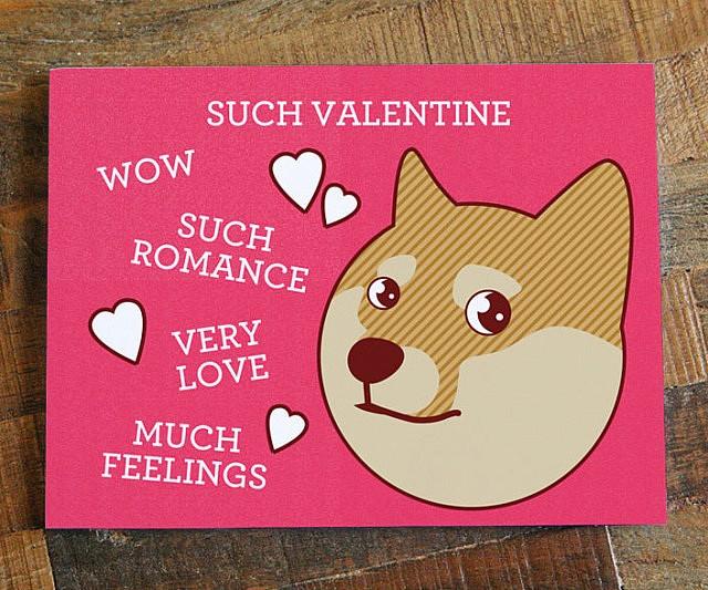 Doge Valentine\u0027s Day Card