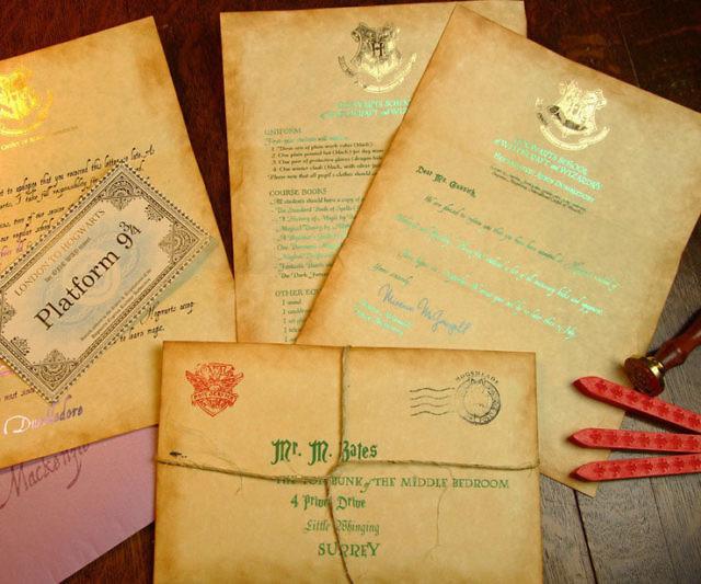 Hogwarts Acceptance Letter - hogwarts acceptance letter