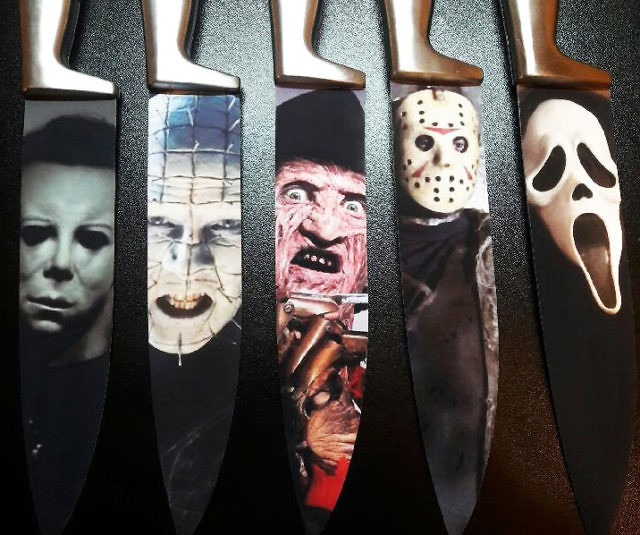 Hd Knife Wallpaper Decorative Horror Movie Themed Knives