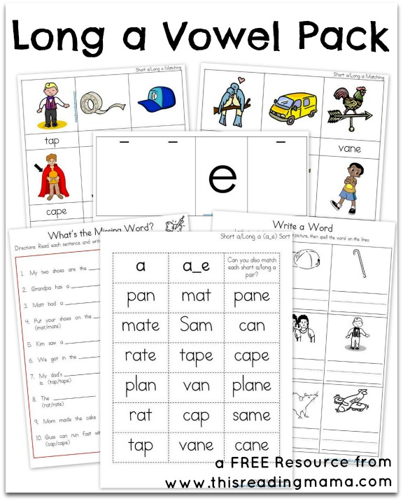 Teaching Silent e Words - This Reading Mama