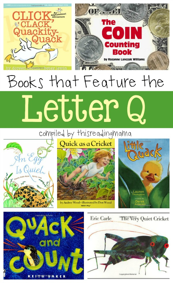 Letter of the Week Book Lists  Printable ABC Resources
