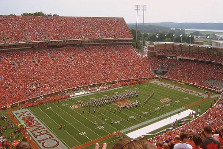 Clemson Memorial Stadium Seat Views - Section by Section