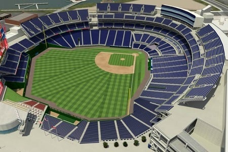Nationals Park Seating Chart - Row  Seat Numbers