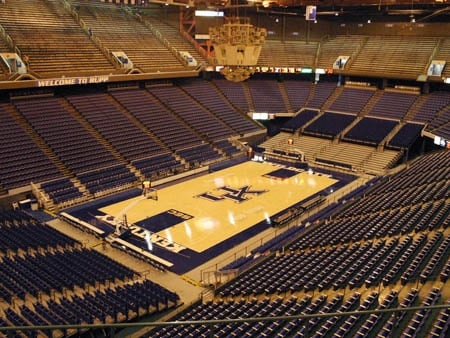 Rupp Arena Seating Chart - Row  Seat Numbers