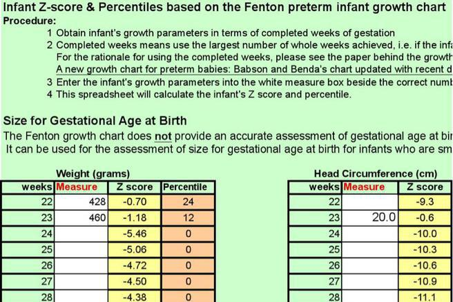 63+ Baby Growth Chart Template Free Download