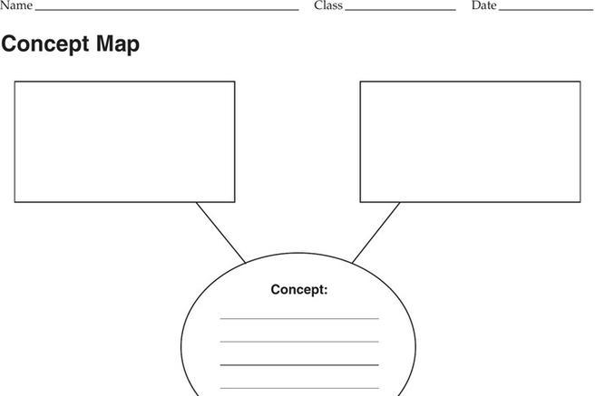 Download Concept map Template for Free - TidyTemplates