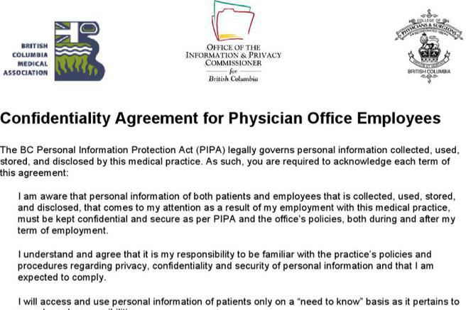 9+ Medical Confidentiality Agreement Templates Free Download