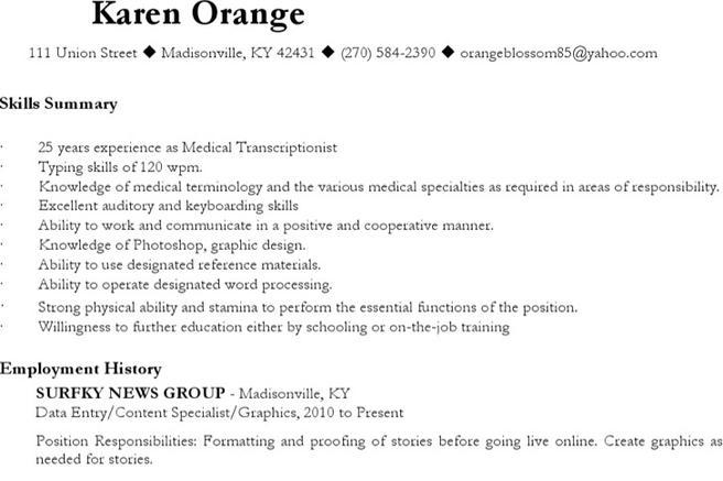 6+ Radiologist Resume Templates Free Download