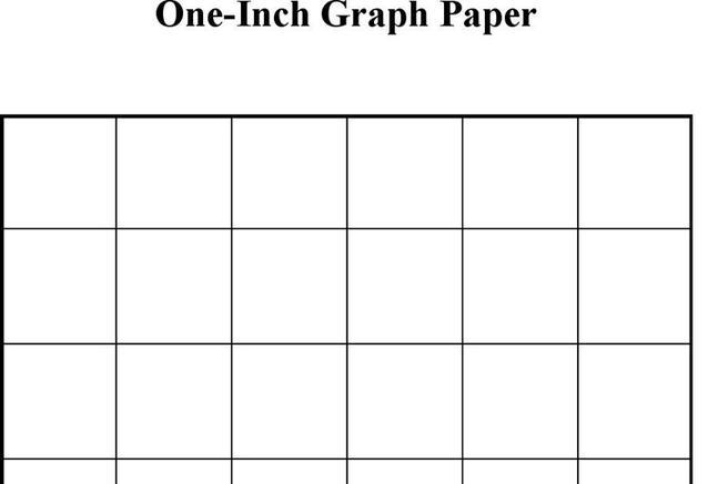 Download 1 Inch Graph Paper for Free - TidyTemplates