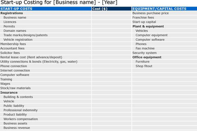 Download Business Plan Template for Free - TidyTemplates - software business plan template