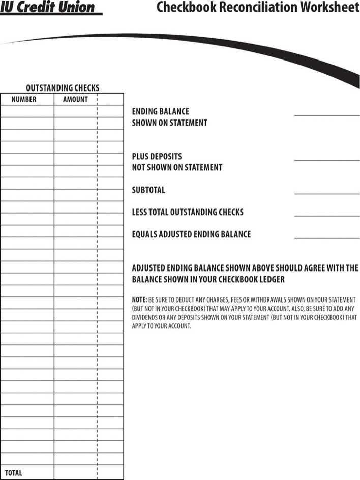 Download Checkbook Balance Sheet for Free - TidyTemplates