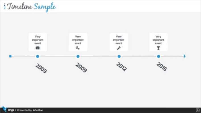 Download Download Origa Keynote Timeline Presentation Template for