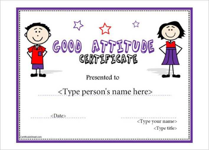 certificate attendance template - Nevadlugopisyreklamowe