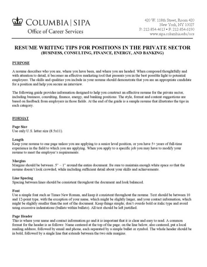 Download Personal Banker Resume Sample for Free - TidyTemplates