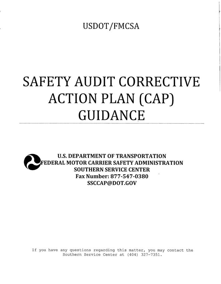 Download Safety Corrective Action Plan Template for Free - TidyTemplates