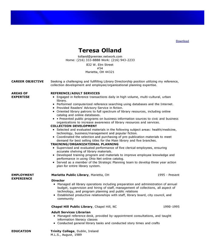 Download Sample Free Functional Resume Template for Free - TidyTemplates
