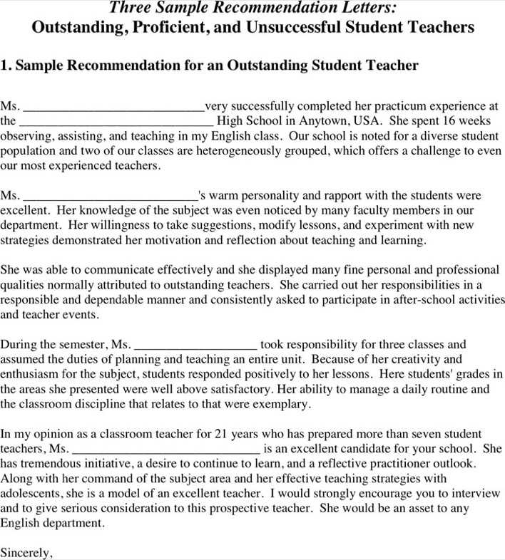 Download Sample Recommendation Letter for Free - TidyTemplates