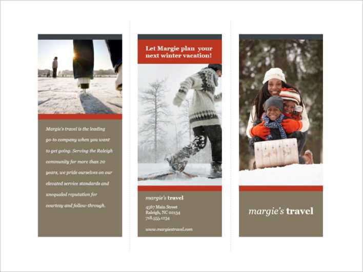 Download Tri-fold Travel Brochure Template for Free - TidyTemplates