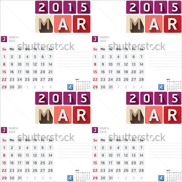 16+ Event Calendar Templates Free Designs Free Download