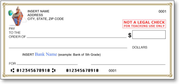 Download Blank Check Template for Free - TidyTemplates - blank cheque template