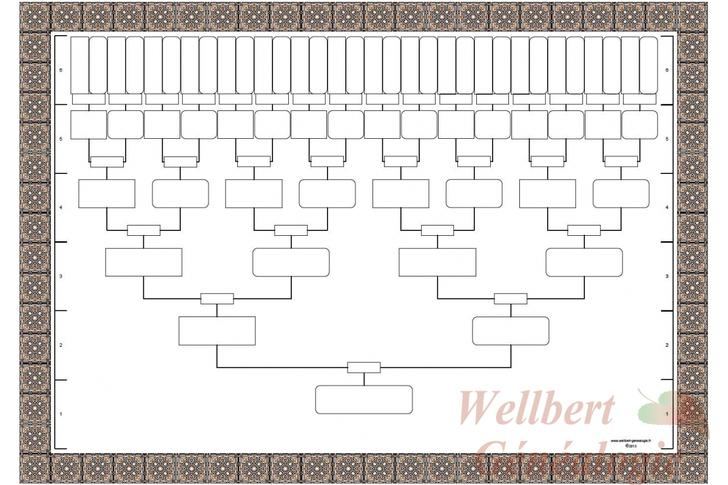 Download Blank Family Tree Templates for Free - TidyTemplates