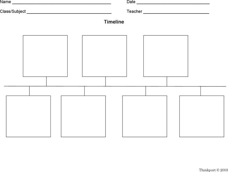 timeline blank - Pinarkubkireklamowe