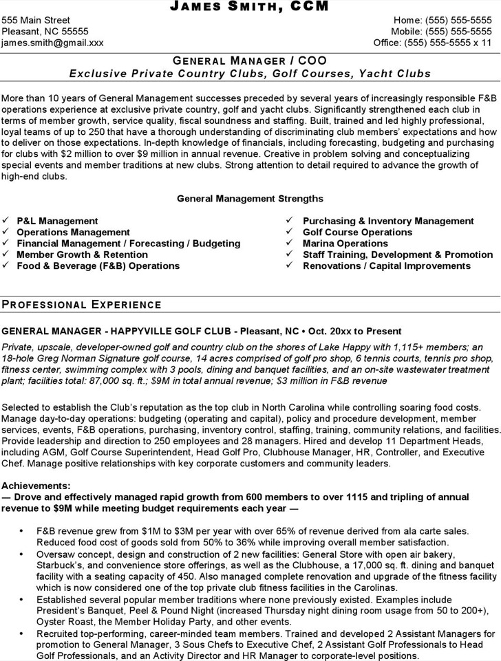 5+ Catering Resume Templates Free Download