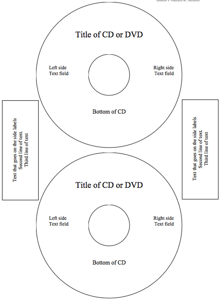 3+ CD Label Template Free Download