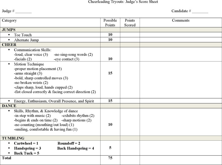 Cricket Score Sheet Sample Free Download Resume Examples