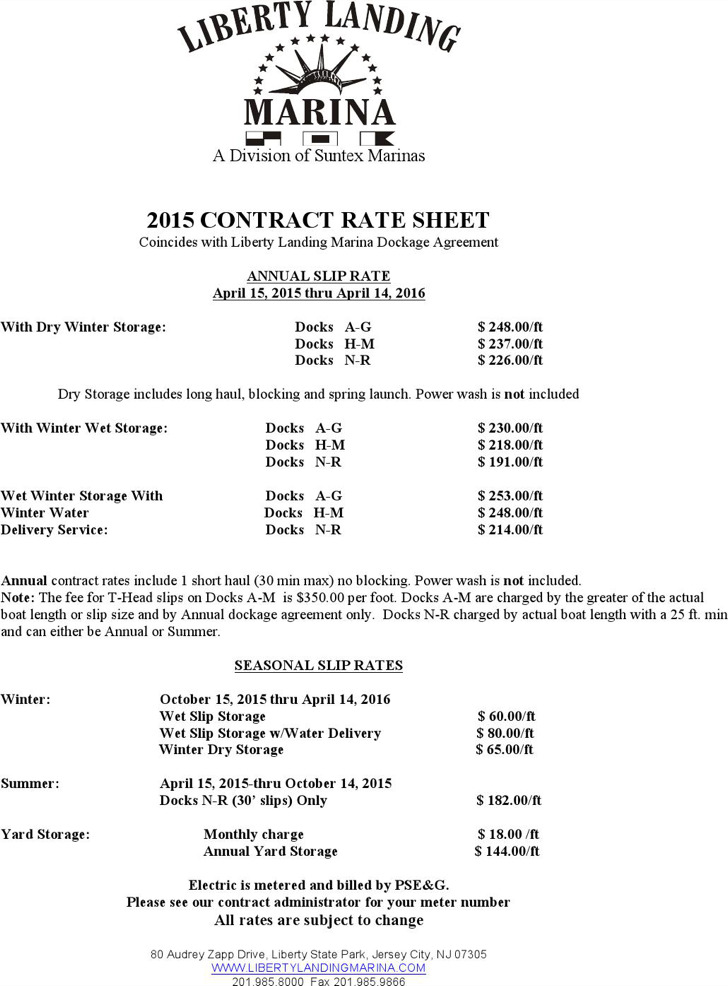 9+ Rate Sheet Templates Free Download