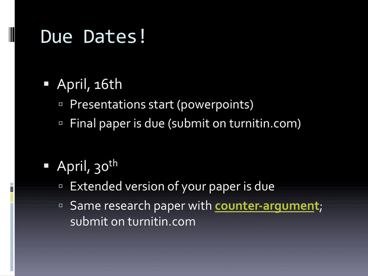 3+ Counter Argument Example Free Download