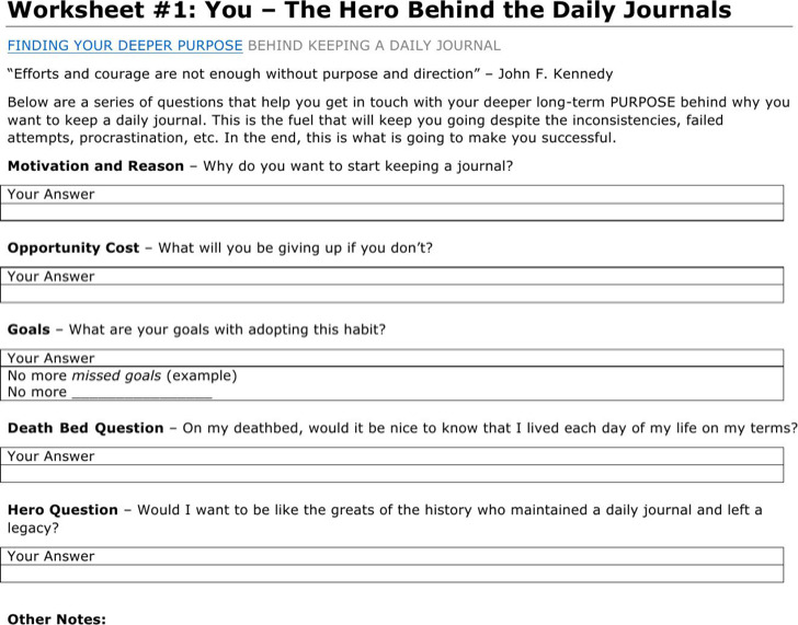 6+ Word Journal Templates Free Download