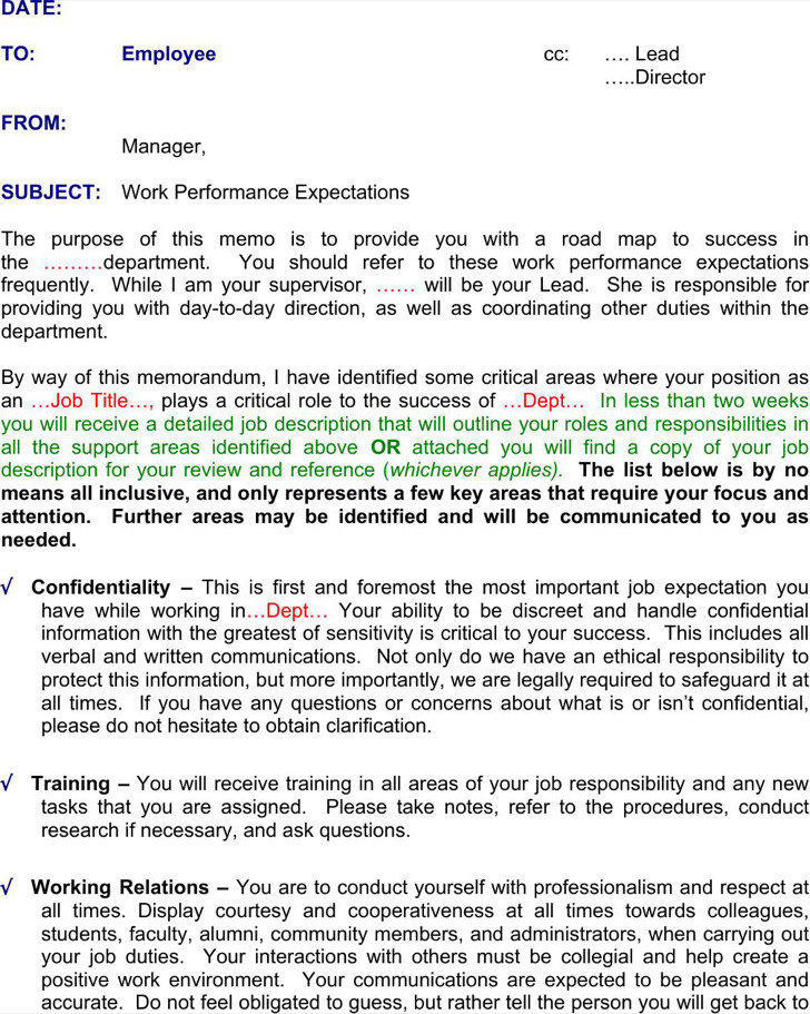 employee memo template - Pinarkubkireklamowe