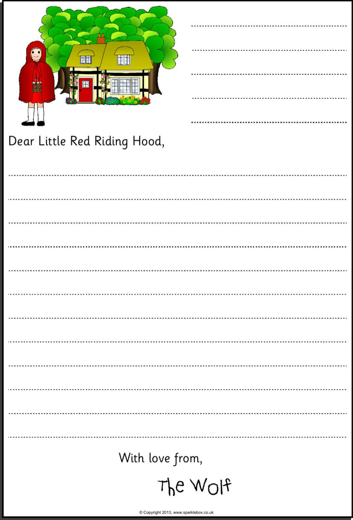 3+ Letter Templates for Kids Free Download