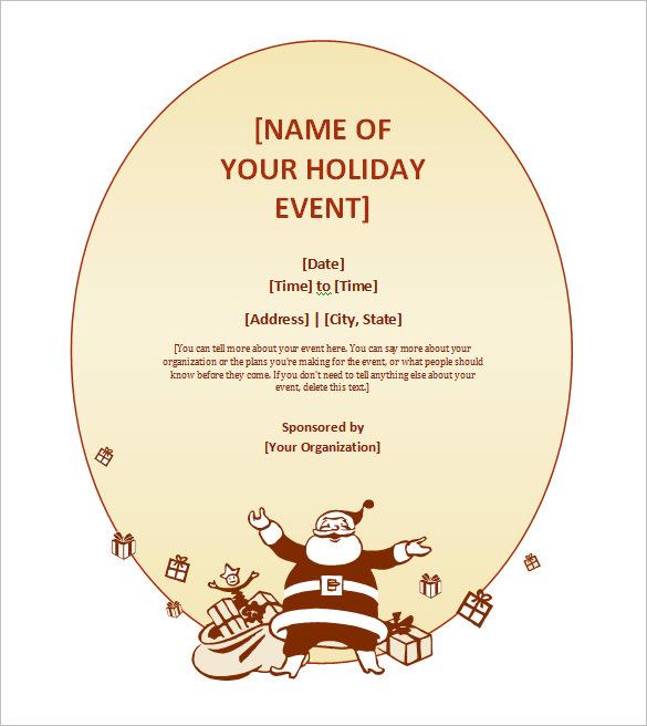 free christmas invitation templates elegant free printable christmas
