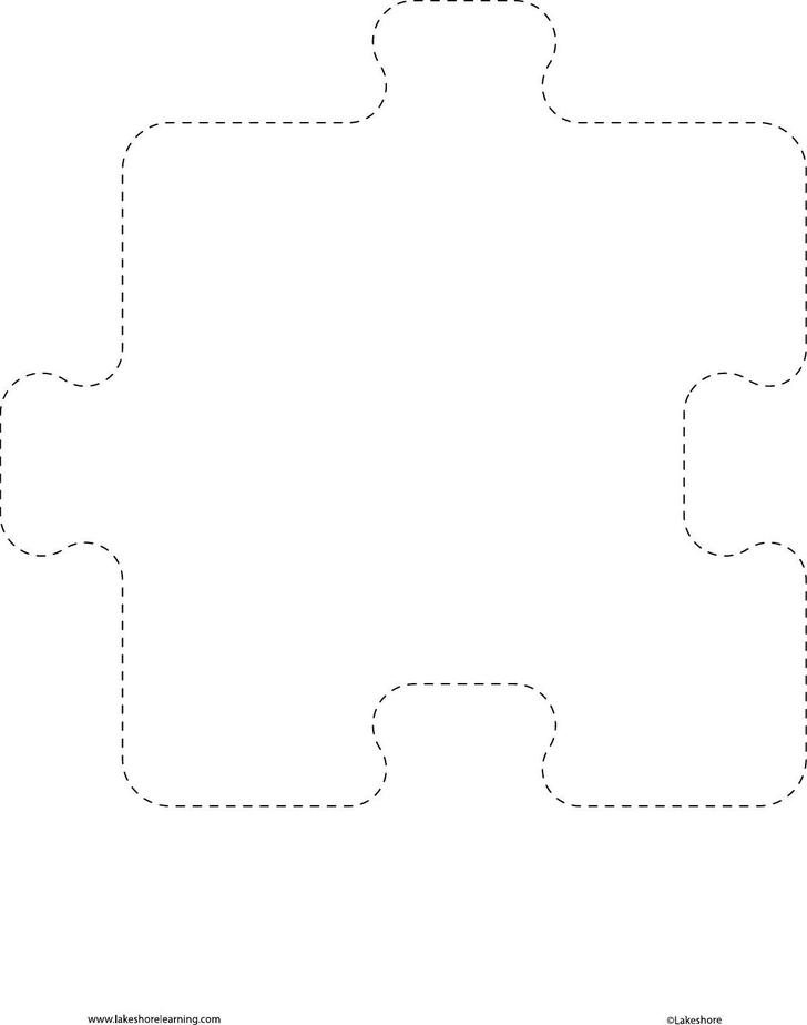 19+ Puzzle Piece Template Free Download