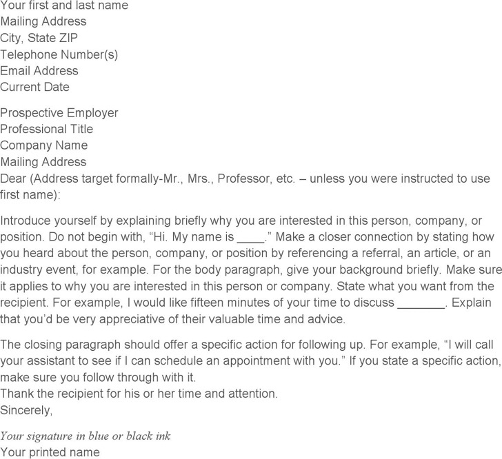 3+ General Cover Letter Template Free Download - general cover letter template