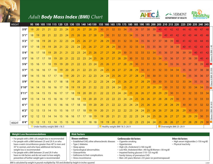 Download Sample Height And Weight Chart Templates For Men for Free - bmi chart template