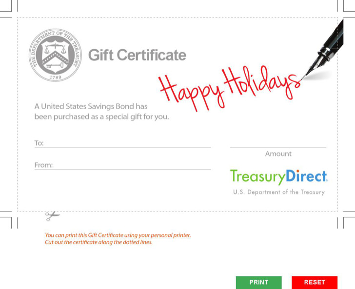 20+ Holiday Gift Certificate Templates Free Download