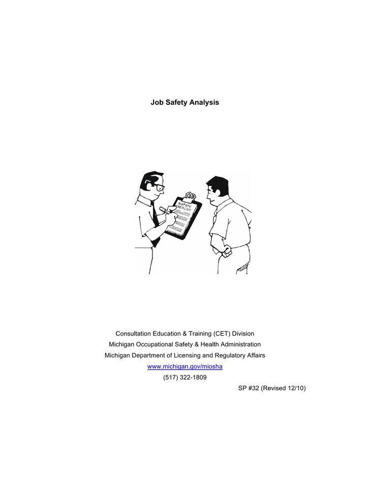 8+ Job Safety Analysis Template Free Download