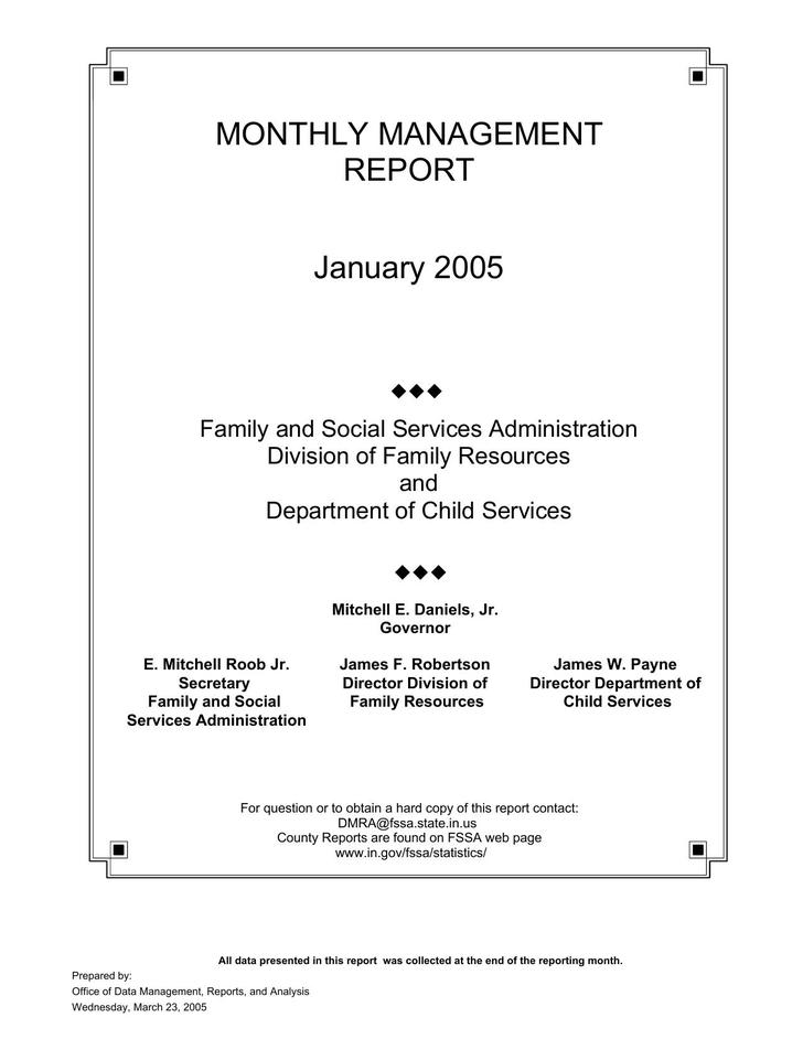 19+ Monthly Management Report Template Free Download
