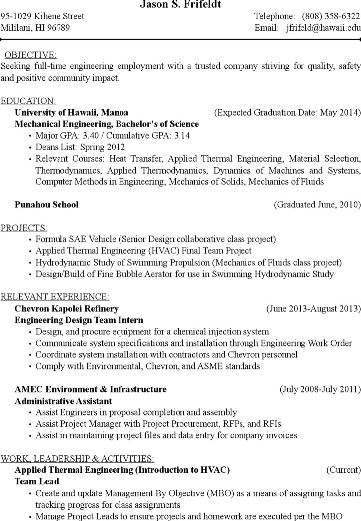 9+ HVAC Resume Template Free Download