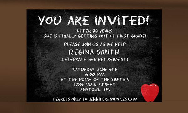 Download Retirement Party Invitation Templates for Free - TidyTemplates