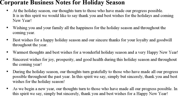 2+ Holiday Greetings Message Free Download