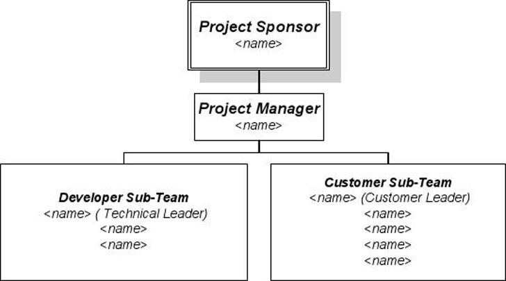 3+ Project Organization Chart Free Download