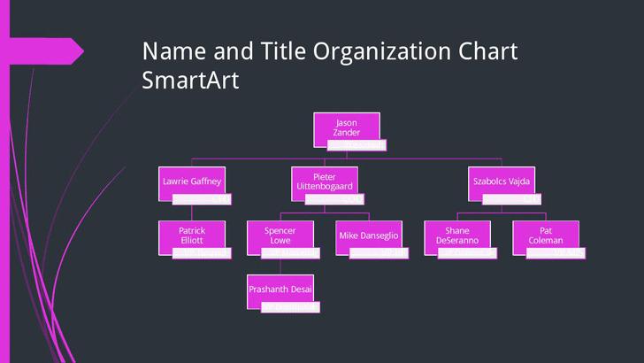 1+ Small Business Organizational Chart Free Download