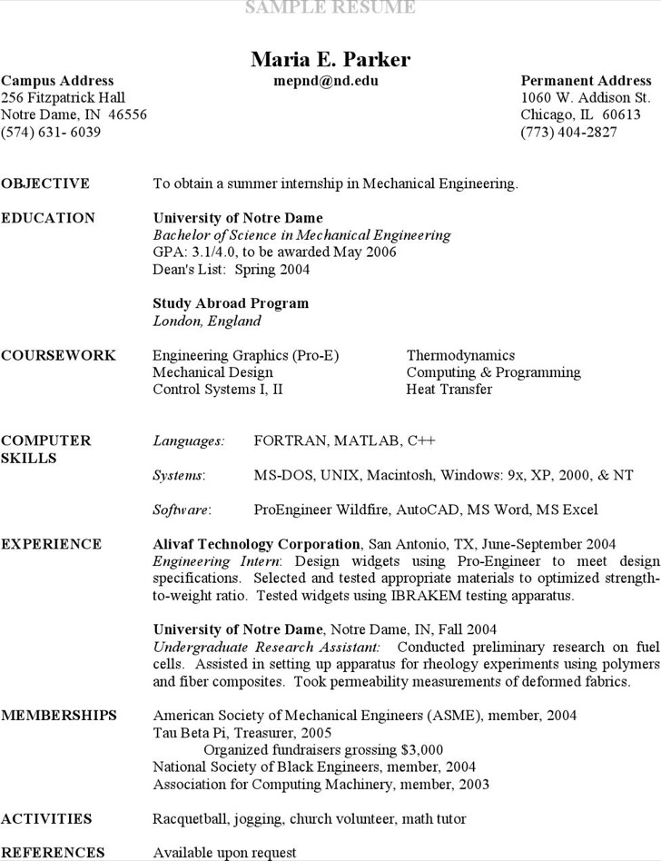 5+ Research Assistant Resume Templates Free Download