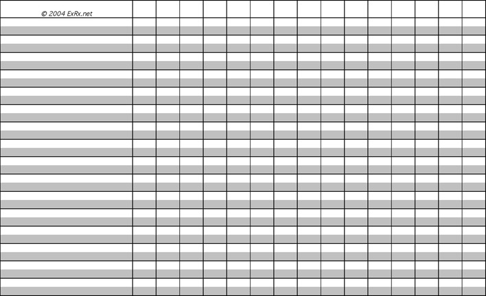 4+ Workout Log Template Free Download