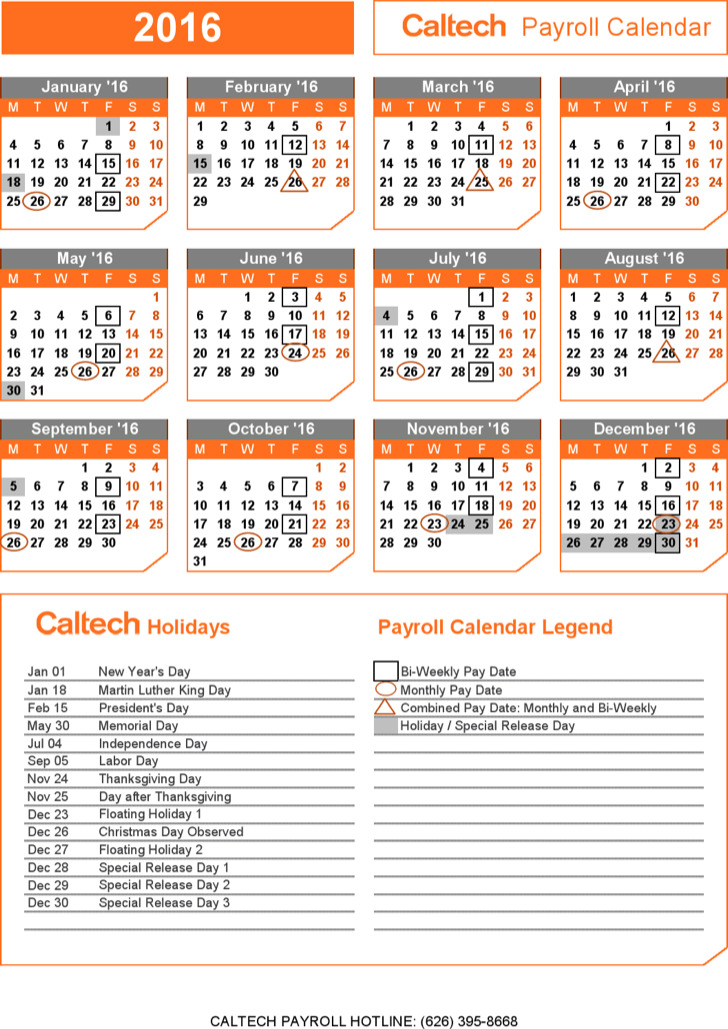 excel collections 10 payroll calendar templates free download