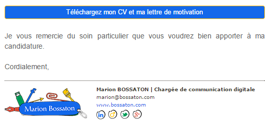 tilkee lettre de motivation cv